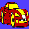 play Racing Concept Car Coloring