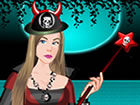 play Cute Halloween Girl Dress Up