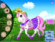 Play Happy pony dress up Game