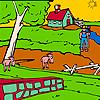 play Animals Big Farm Garden Coloring