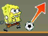 Play SpongeBob Play Football Game