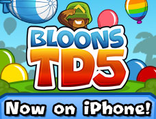 Bloons Tower Defense 5 Mobile game