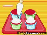 play Hello Kitty Apples And Bananas Cupcakes