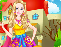 play Barbie Ever After High Style Dress Up