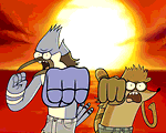 play Regular Show: Fist Punch