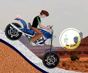 play Ben 10 Omniverse Desert Racing