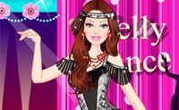 play Barbie Exotic Belly Dancer Dress Up