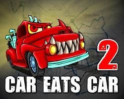 play Car Eats Car 2 Deluxe