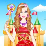 play Barbie Diamonds Princess Dress Up