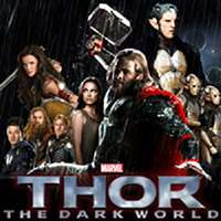 Thor The Dark World - Find The Letters game