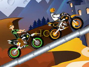 play Ben 10 Halloween Race