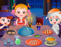 play Baby Hazel Halloween Party