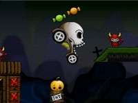 play Stunt Crazy Halloween 2