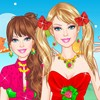 play Barbie Strawberry Princess Dress Up