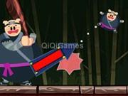play Ninja Pig 3