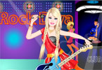 play Barbie Rock Diva Dress Up