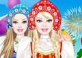 play Barbie Russian Doll Dress Up