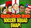 play Sports Heads Cards: Soccer Squad Swap
