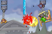 play Roly-Poly Cannon: Bloody Monsters Pack 2