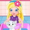 play Baby Sofia White Kitty