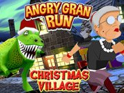 play Angry Gran Run Christmas Village