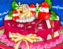 Christmas Cake Decor game