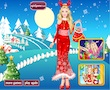 play Barbie Winter Princess Dress Up