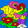 play Lovely Squirrel In The Garden Coloring