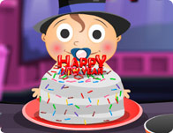 play Baby'S New Year Cake
