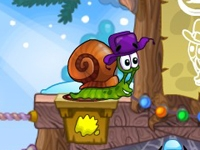 play Snail Bob 6; Winter Story