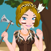 play Tribal Girl Dress Up