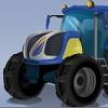 play Futuristic Tractor Racing
