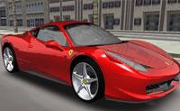 play 3D Ferrari F458 Driving