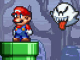 Y8, A10 Super mario star scramble 2 ghost island Game