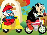 play Smurfs Fun Race