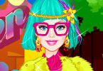 play Barbie Hipster Style Dress Up