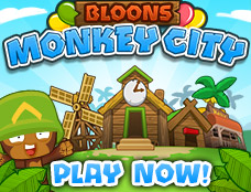Bloons Monkey City game