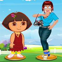 play Zoe With Dora Dress Up