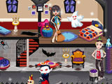 play Monster High Haunted House