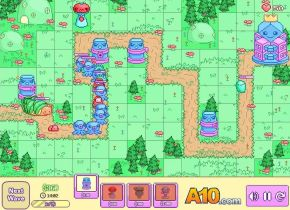 Pixi Tower Defence game