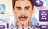 play Justin Bieber Tooth Problem