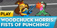 play Numb Chucks - Woodchuck Morris: Fists Of Punching!