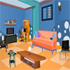 play Blue Puzzle Room Escape