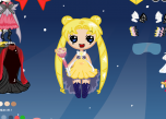 play Mega Sailor Moon Dress Up