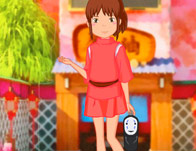 play Chihiro From Spirited Away Anime Dress Up