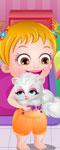 play Baby Hazel Naughty Cat