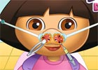 play Dora Nose Doctor
