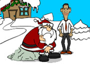play Obama And Pigsaws Gift Saw