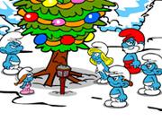 play Smurfs Last Christmas Saw