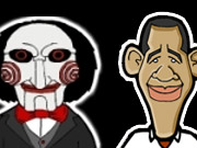 play Obama Vs Pigsaw